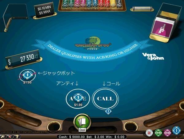 Caribbean Poker Pro