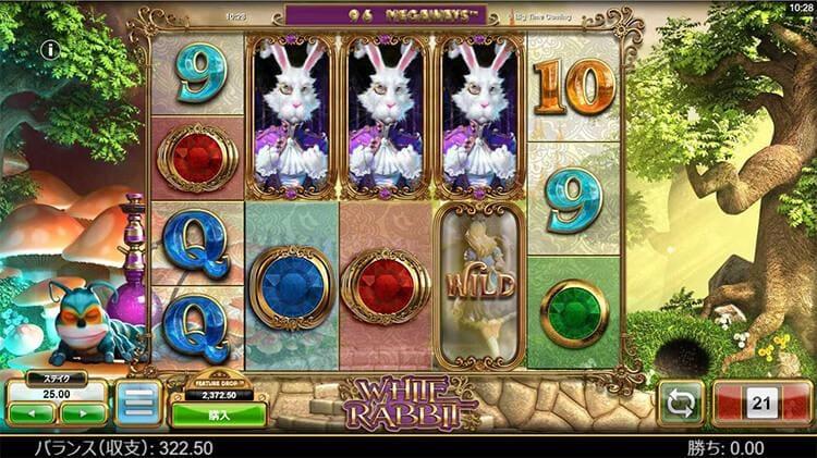 ウサギが3匹、揃えばフューチャーモードに入ります。