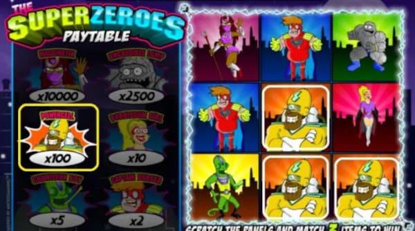 THE SUPER ZERORS